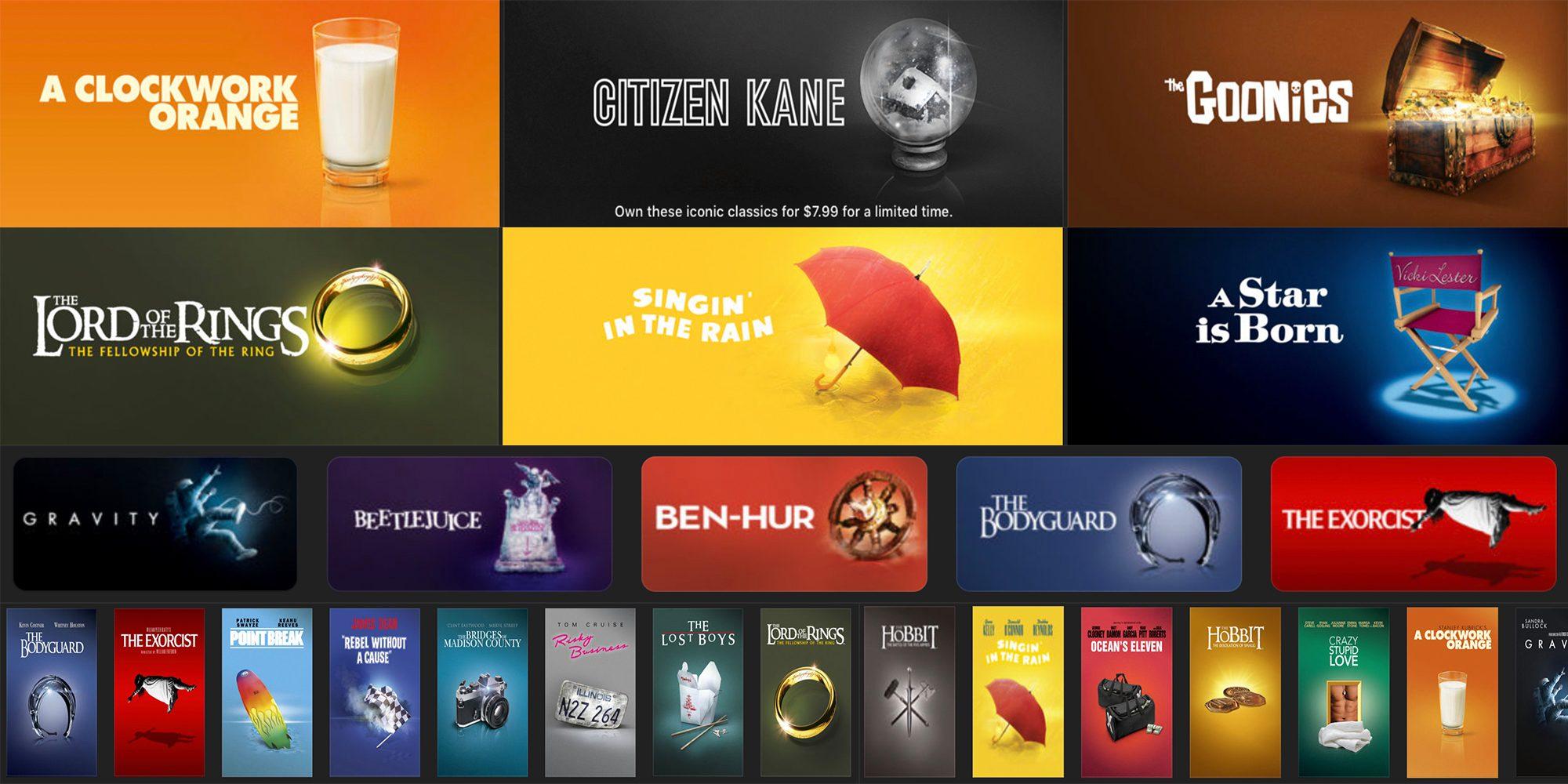 This week's best iTunes movie deals: $8 Essentials sale, 4K from $5, Tomb Raider $1, more