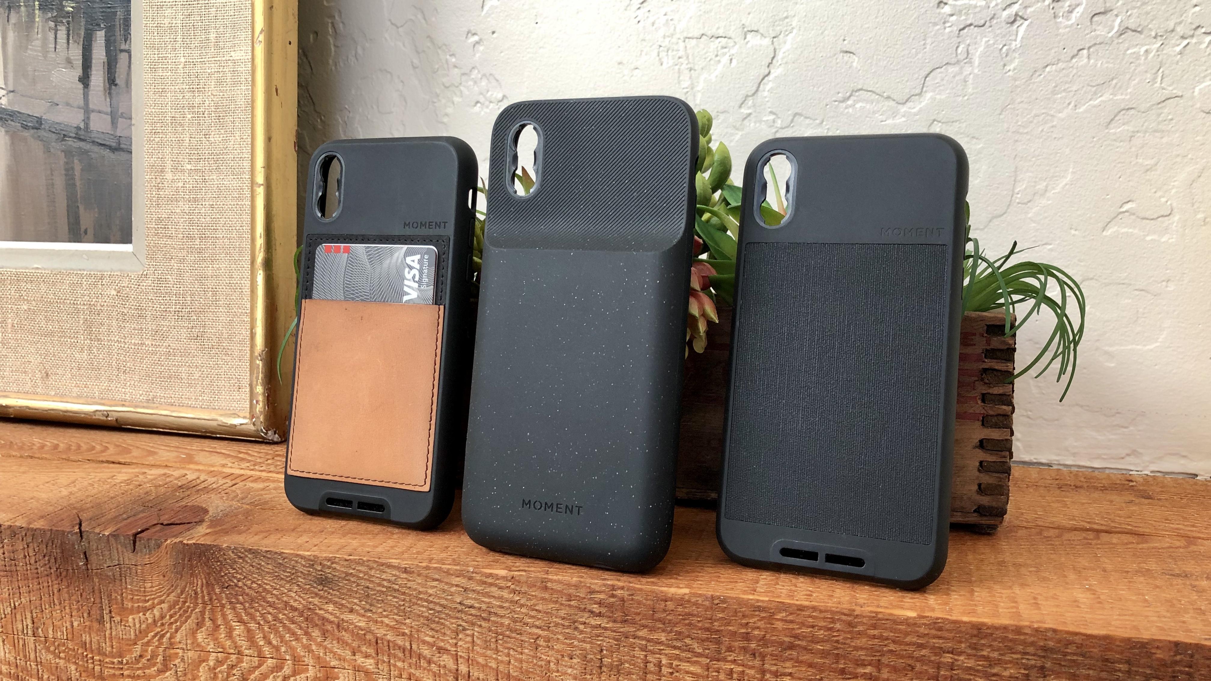 Moment battery case lenses iPhone