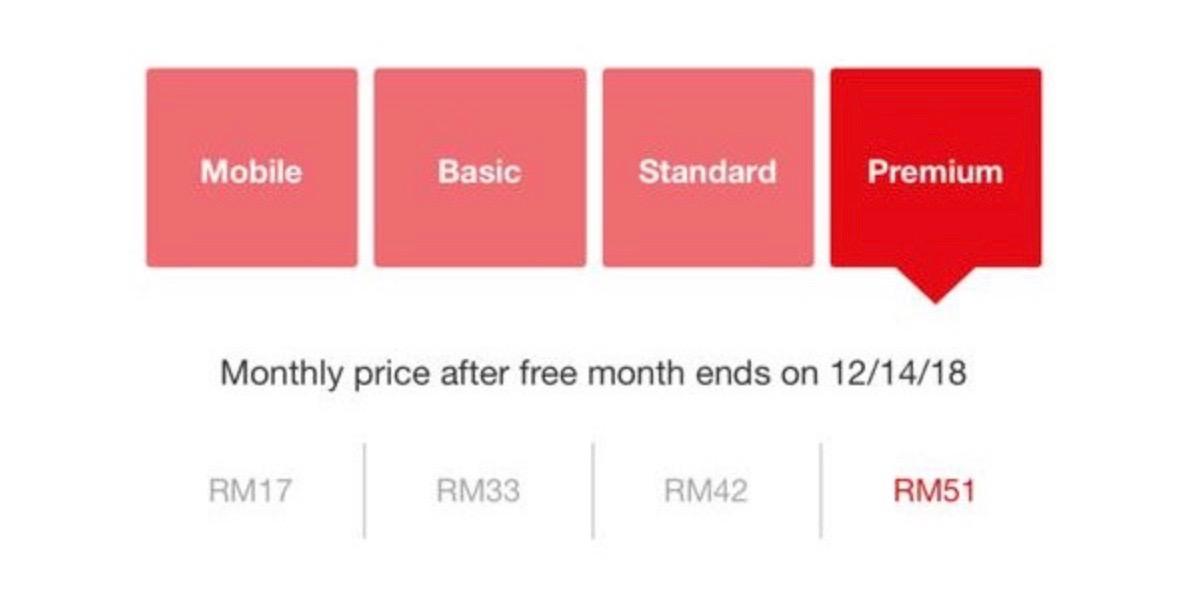 low cost Netflix