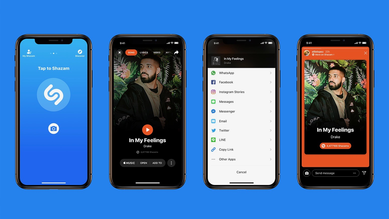 Apple-owned Shazam for iOS updated with Instagram Story integration