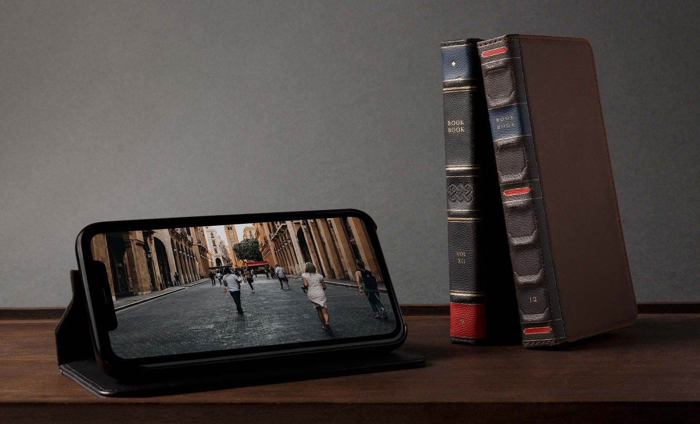 iphone xs max book case