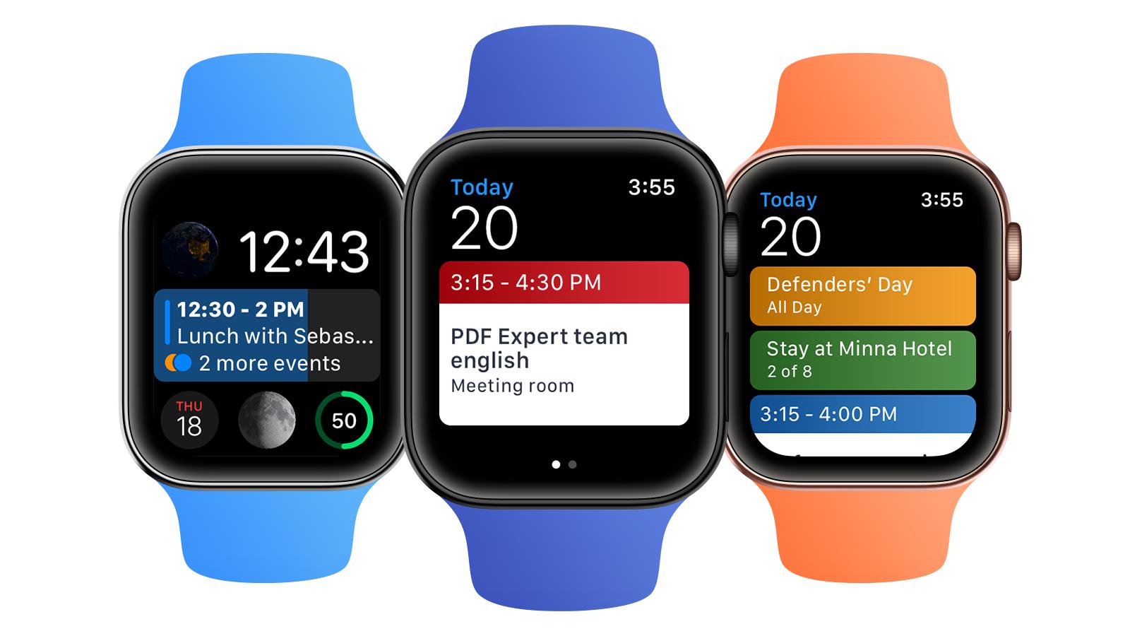 Calendars 5 Apple Watch Siri