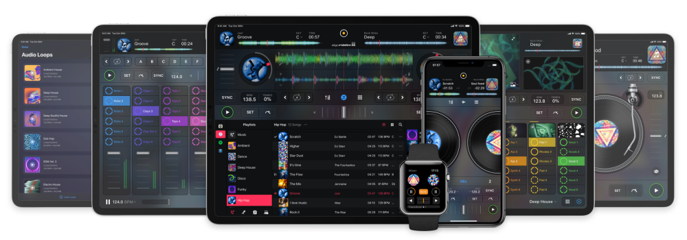 algoriddim overhauls djay for ios with universal free app and optional pro subscription 9to5mac. Black Bedroom Furniture Sets. Home Design Ideas