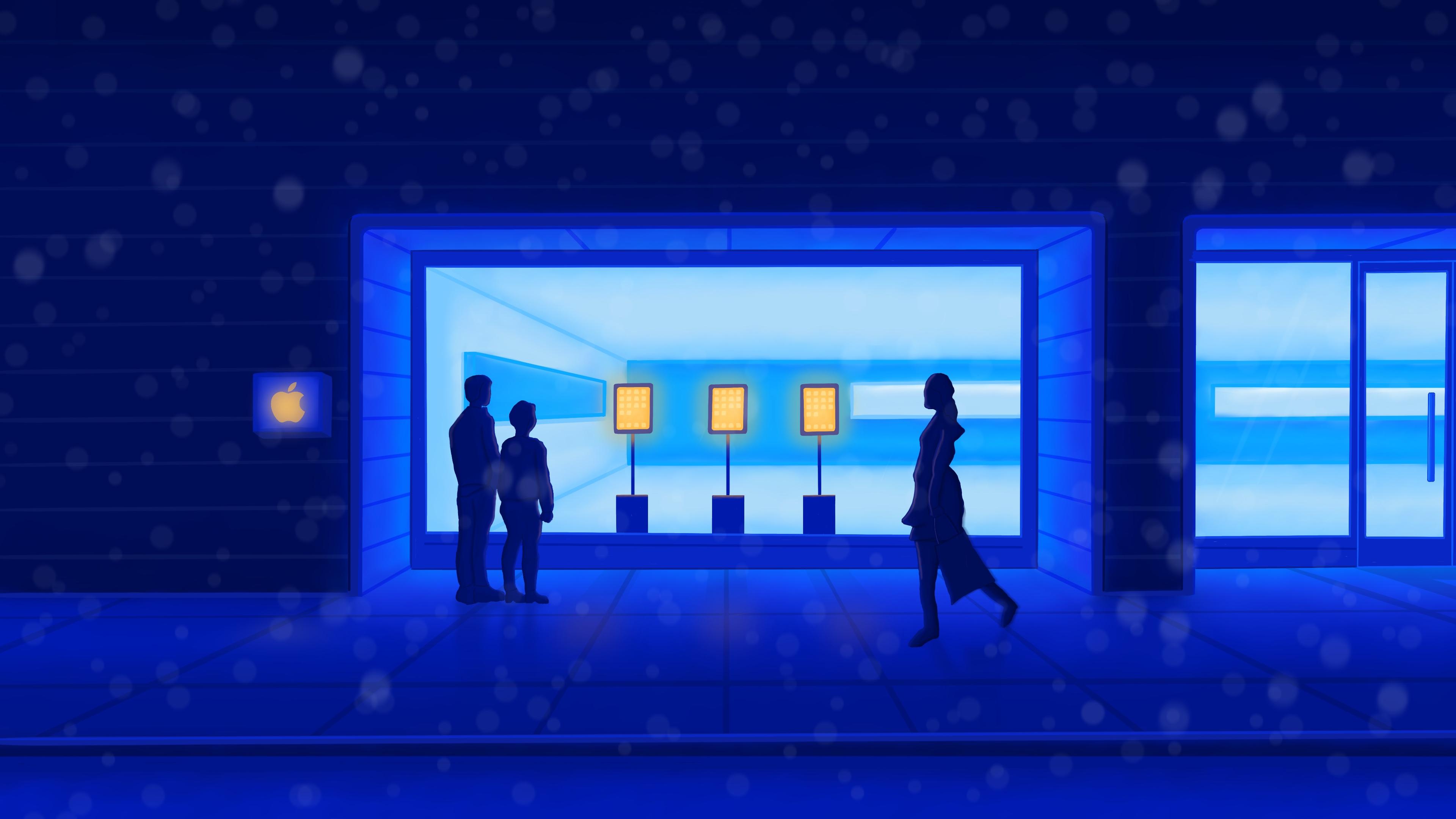Winter wonderland: Apple's holiday window displays through the years