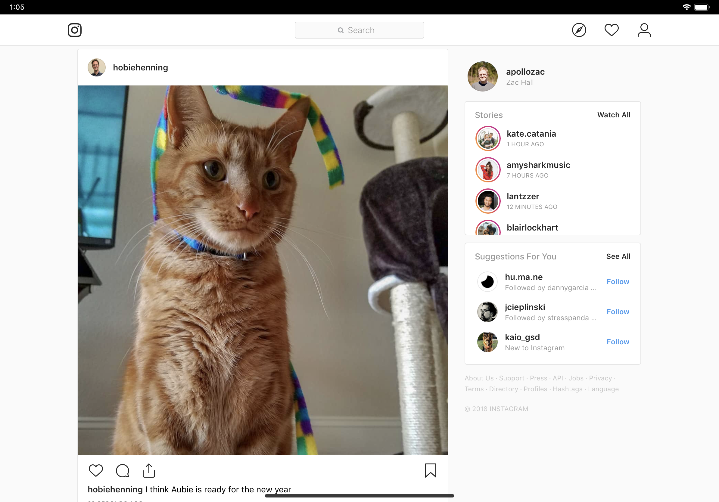Comment: It's 2019, Instagram should make an iPad app