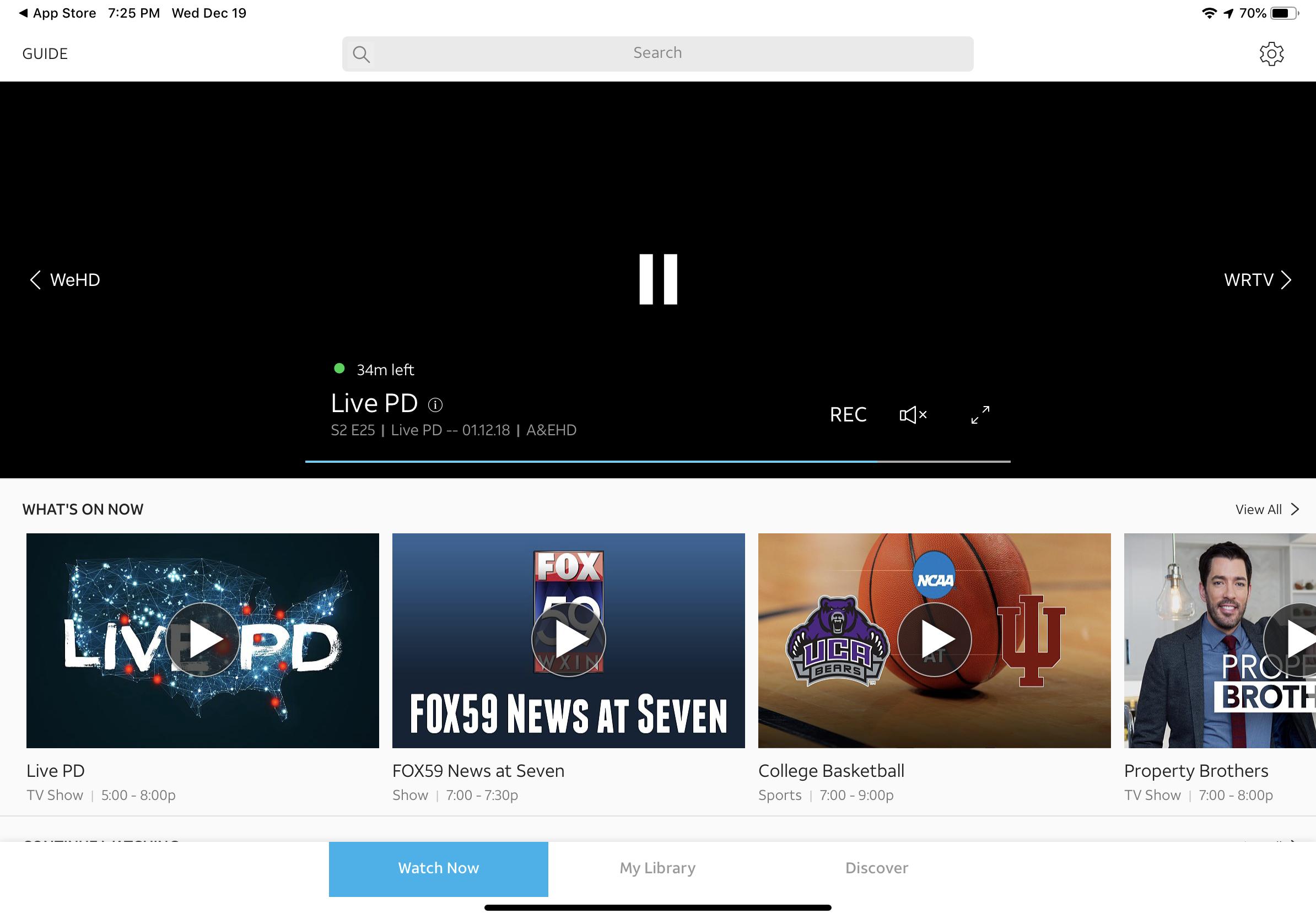 DirecTV Now adds iPad Pro optimization, Cloud DVR expansion