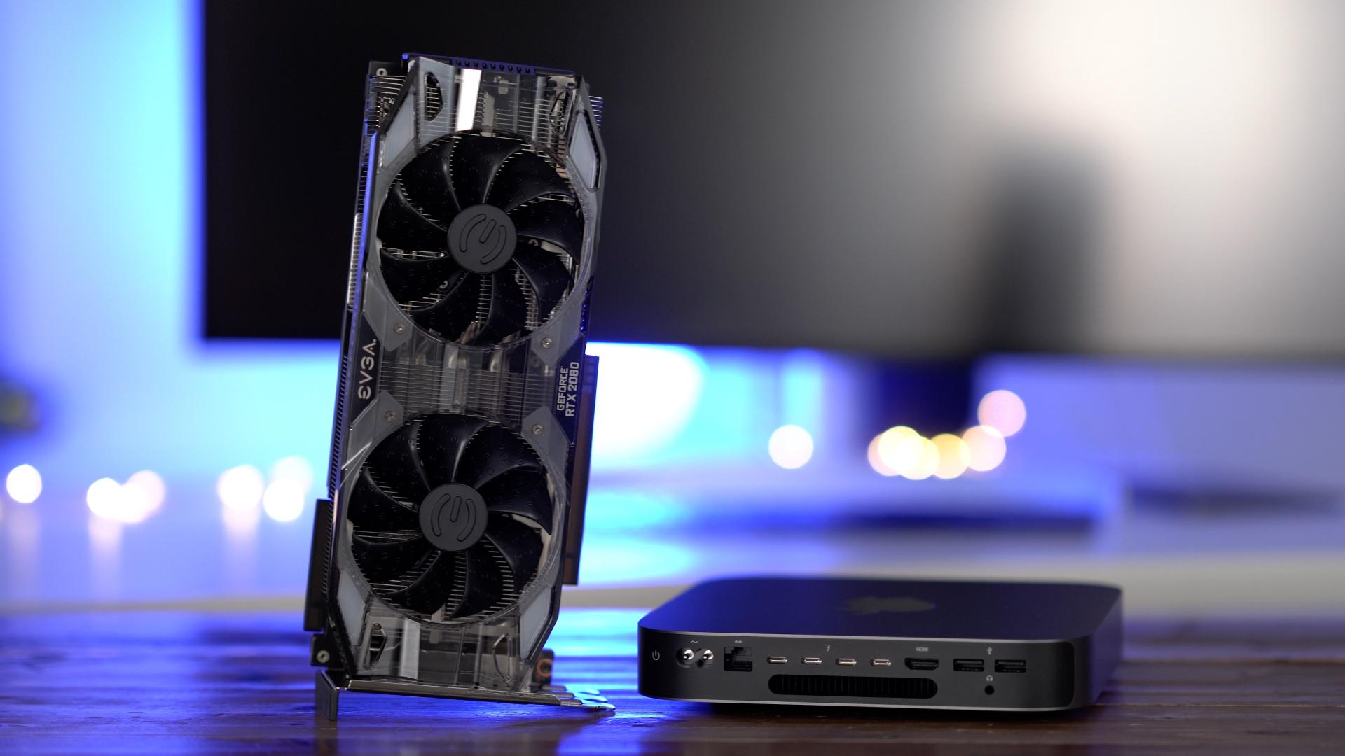 How to: 2018 Mac mini + Nvidia GeForce RTX 2080 eGPU Windows gaming