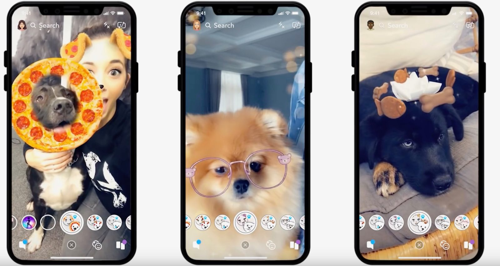 Snapchat has Finally Done It: There are Now AR Lenses for your Dog [Video]