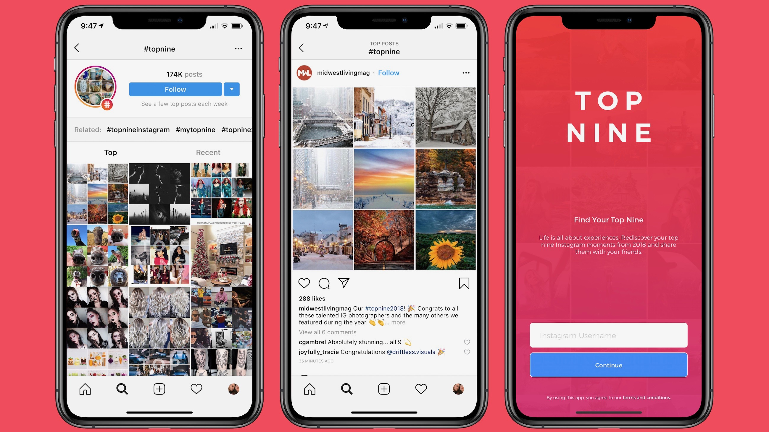 How to create and share your own Instagram Top 9 year in review