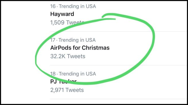 ef0ffbcbe8e AirPods for Christmas': Apple's truly-wireless earbuds became a ...