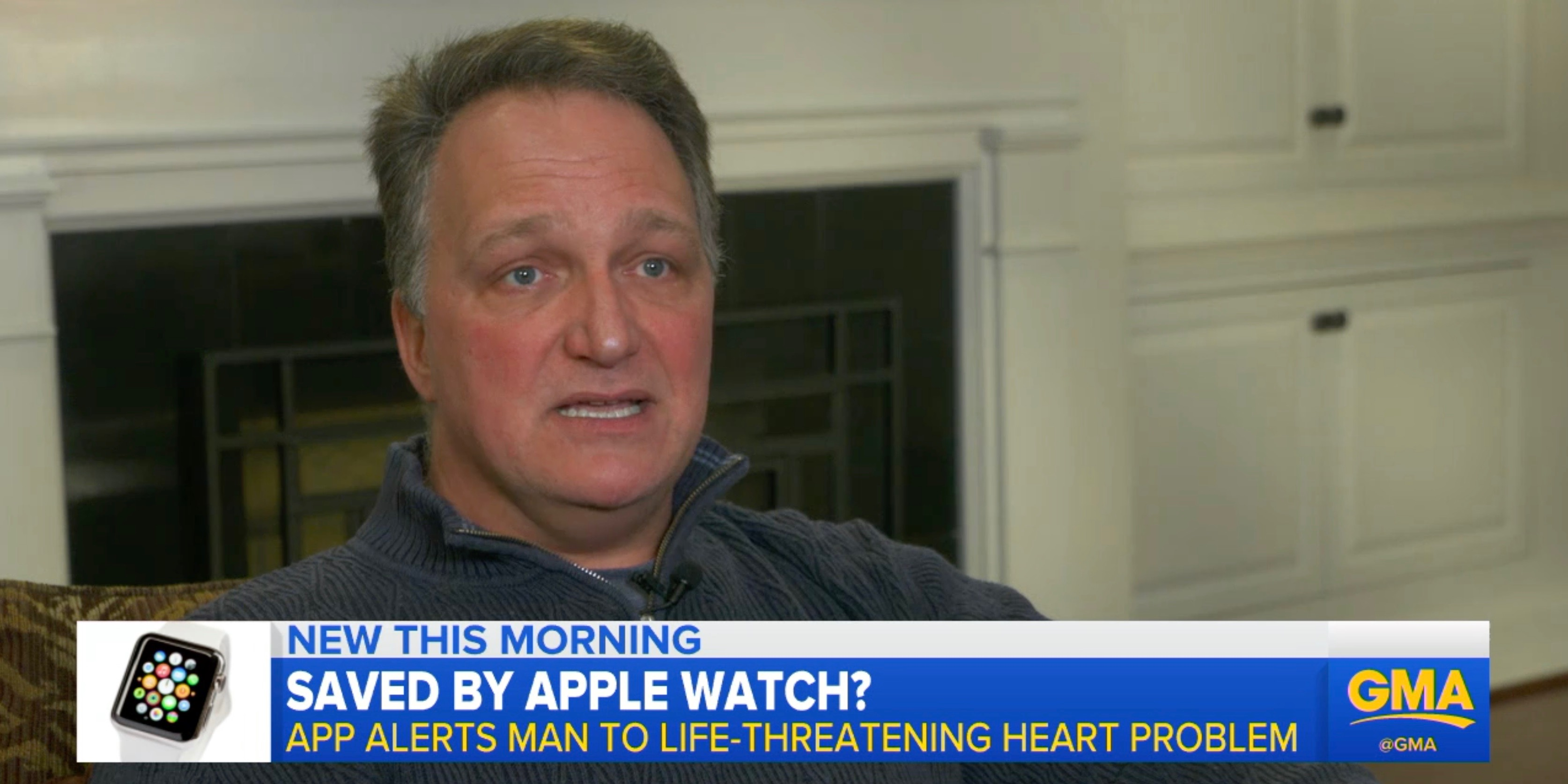 New development in case of Apple Watch customer who discovered heart condition with ECG app, featured on Good Morning America