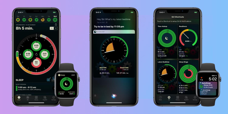 autosleep iphone apple watch