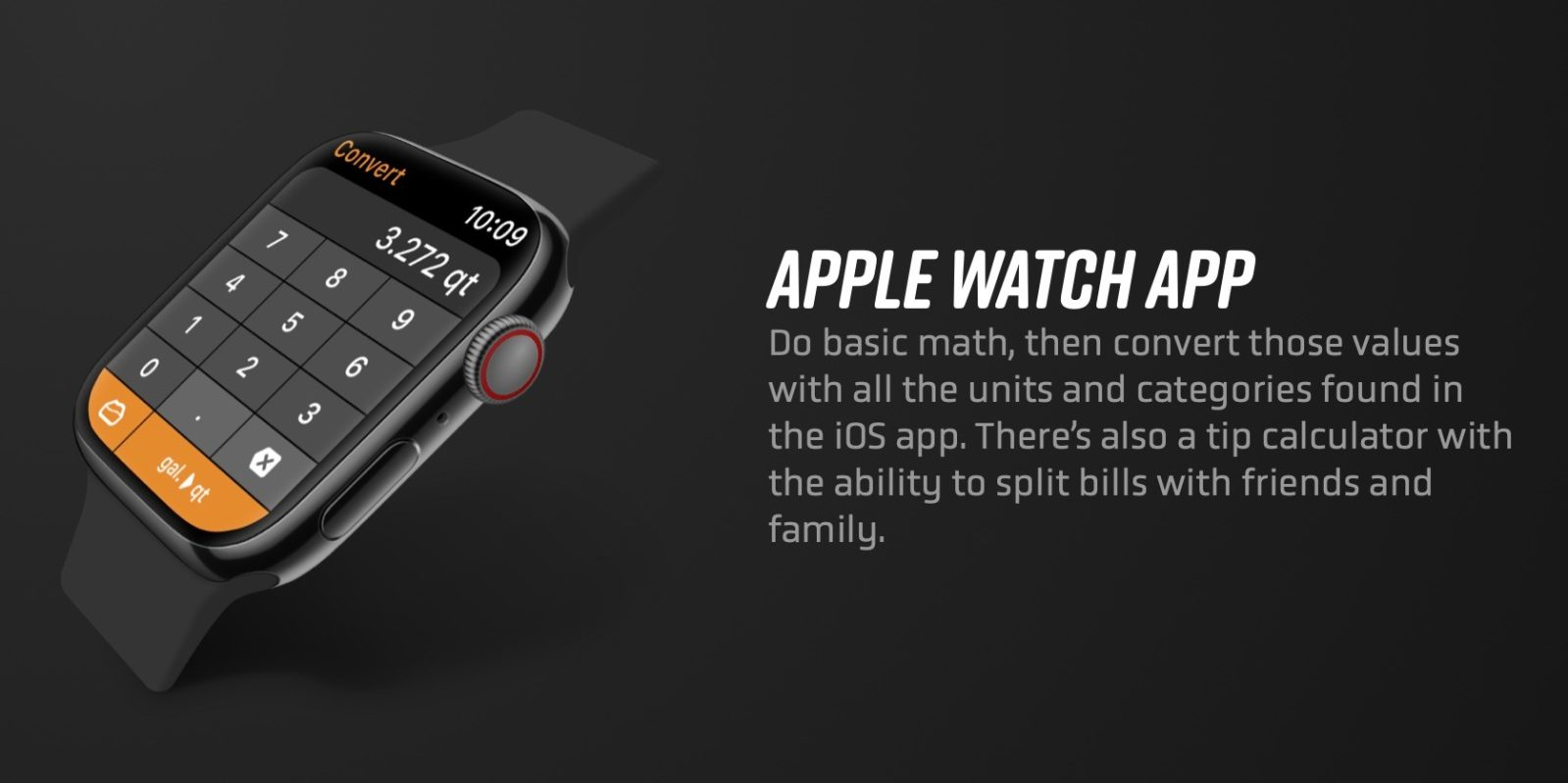 [Update: Watch complication now available] Calcbot iOS update restores Apple Watch app and adds new themes