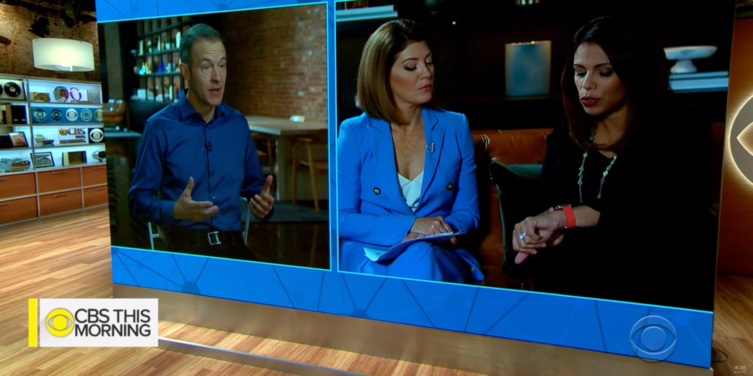 photo image Jeff Williams and Dr. Sumbul Desai explain latest Apple Watch heart features on 'CBS This Morning'