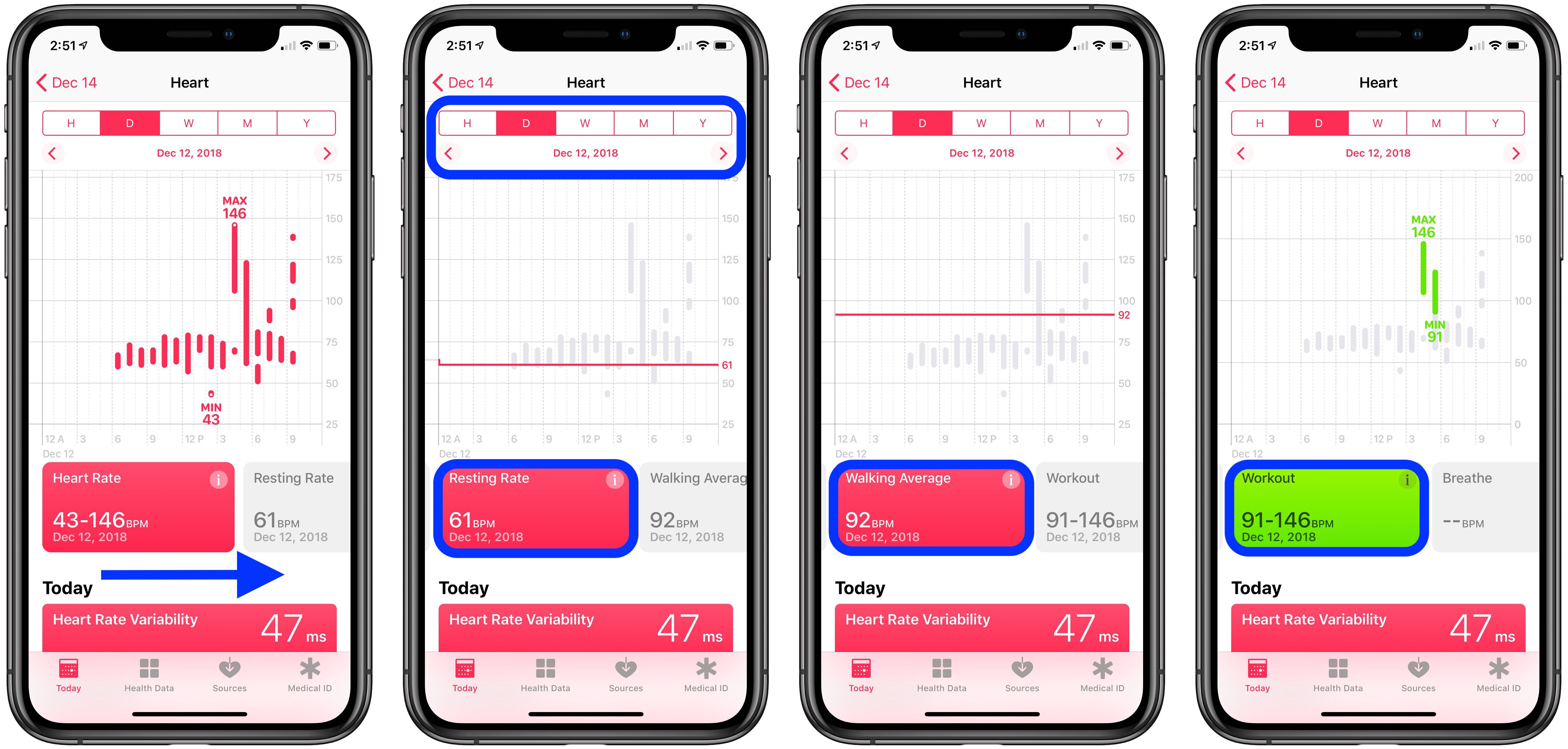 check heart rate Apple Watch