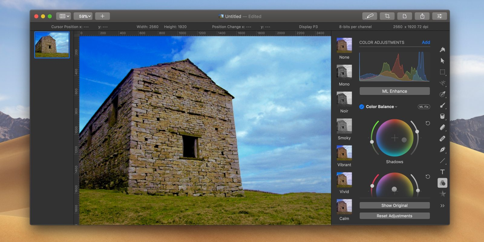 photo of Pixelmator Pro adds redesigned Color Balance tool, new resizing modes, more image
