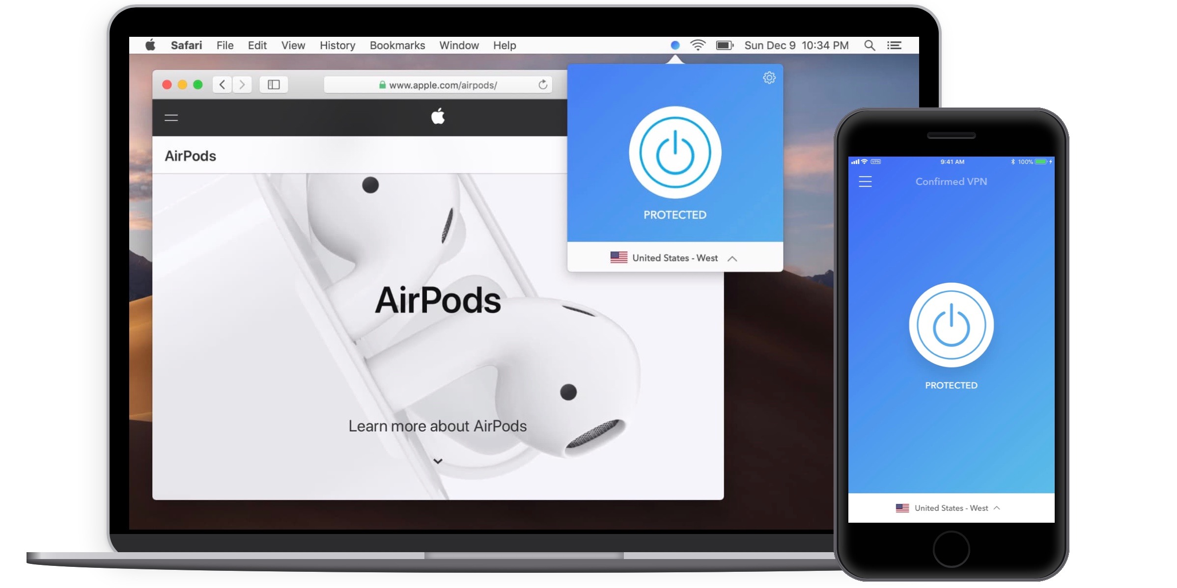 'Confirmed VPN' iOS/macOS update makes it the first open service with third-party audits, open source code, more