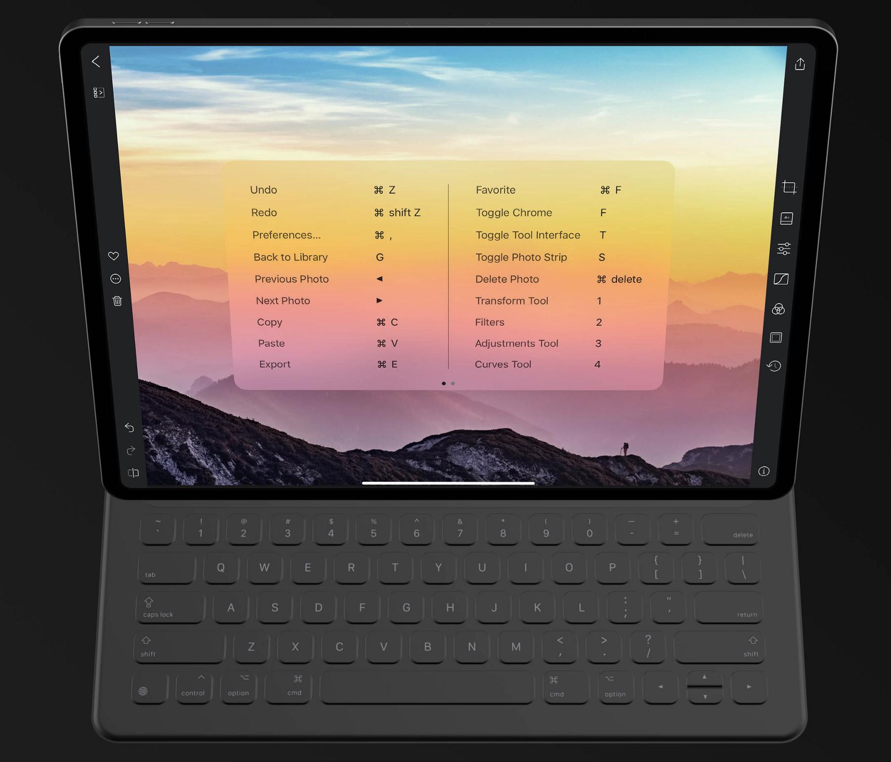 Darkroom iPad