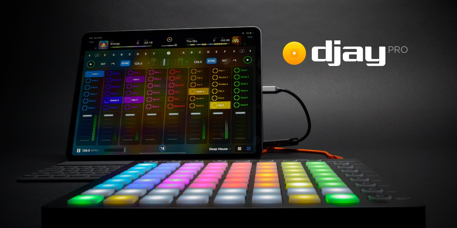Algoriddim overhauls djay for iOS with universal free app and