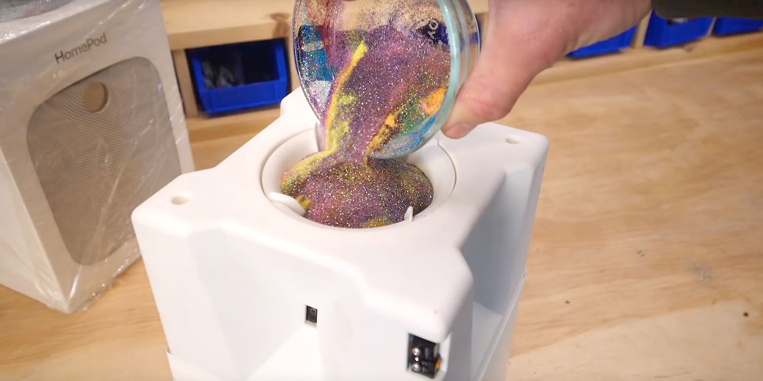 HomePod glitter bomb video was partly staged – but without his knowledge, says creator