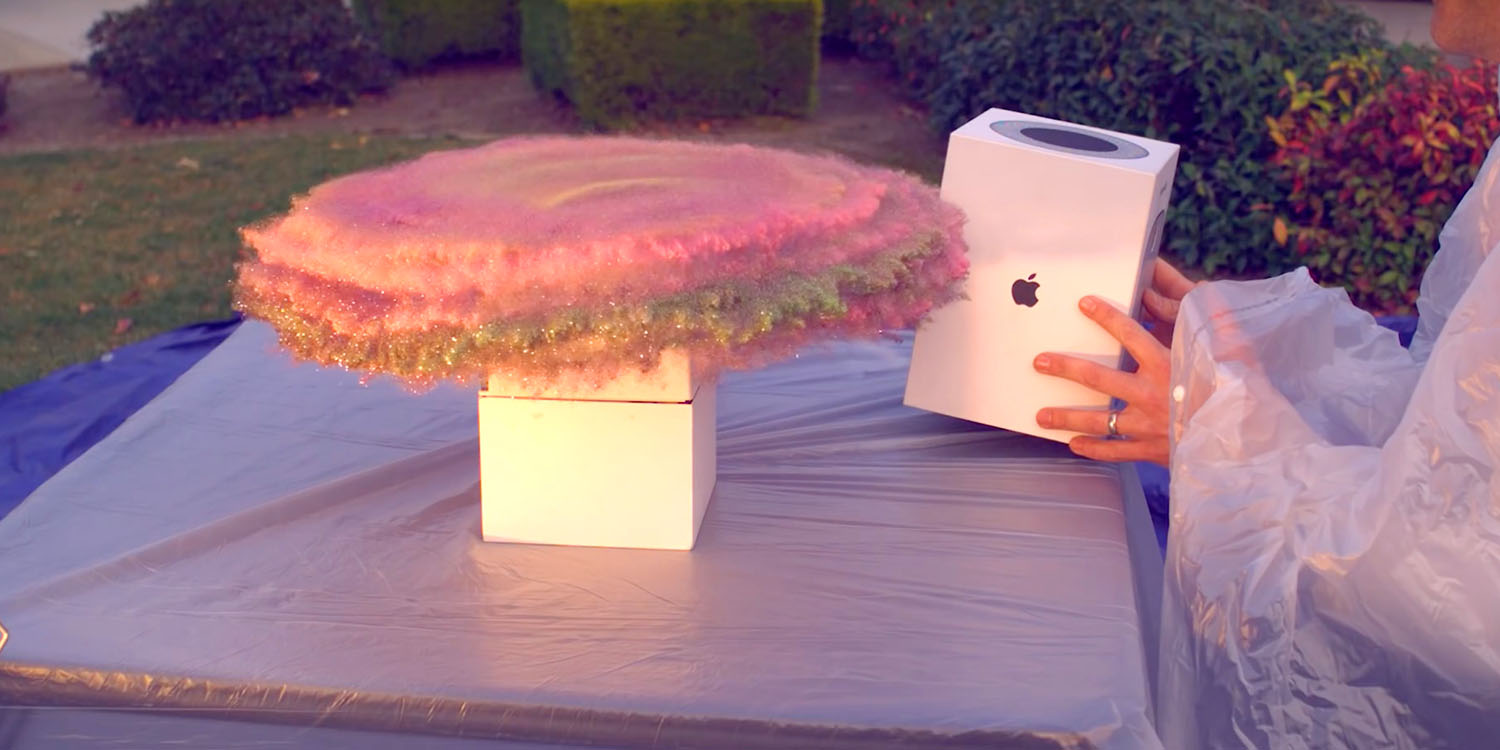 Former NASA engineer turns HomePod box into glitter bomb trap for package thieves [Video]