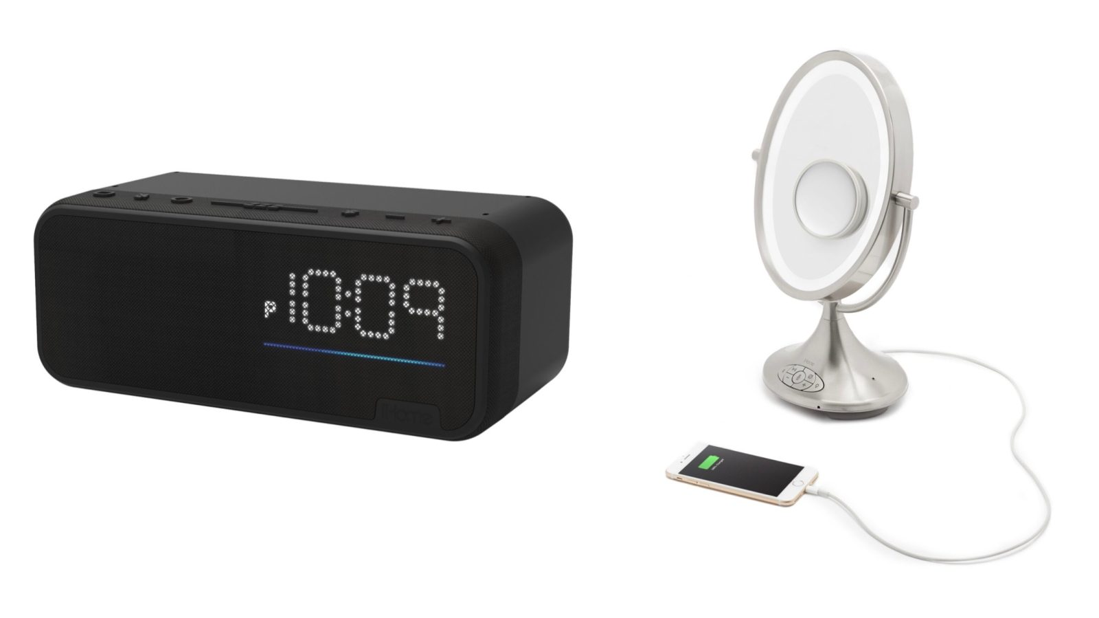Prime Ihome Launches Alexa Enabled Vanity Mirror And Bedside Alarm Download Free Architecture Designs Rallybritishbridgeorg