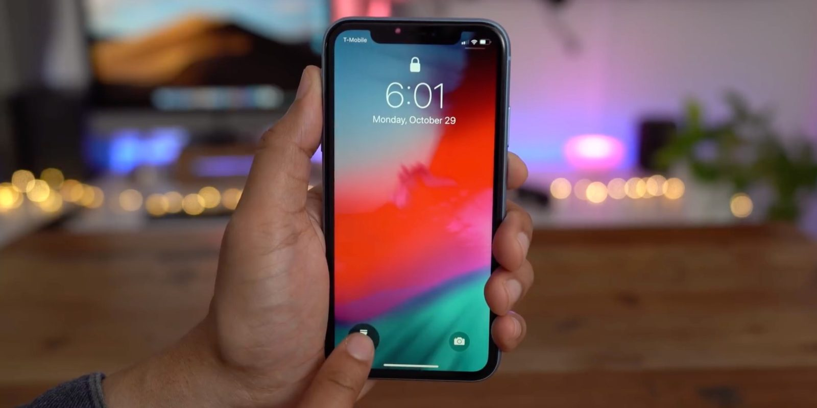 photo image iOS 12.1.2 adds settings menu to change Haptic Touch gesture duration