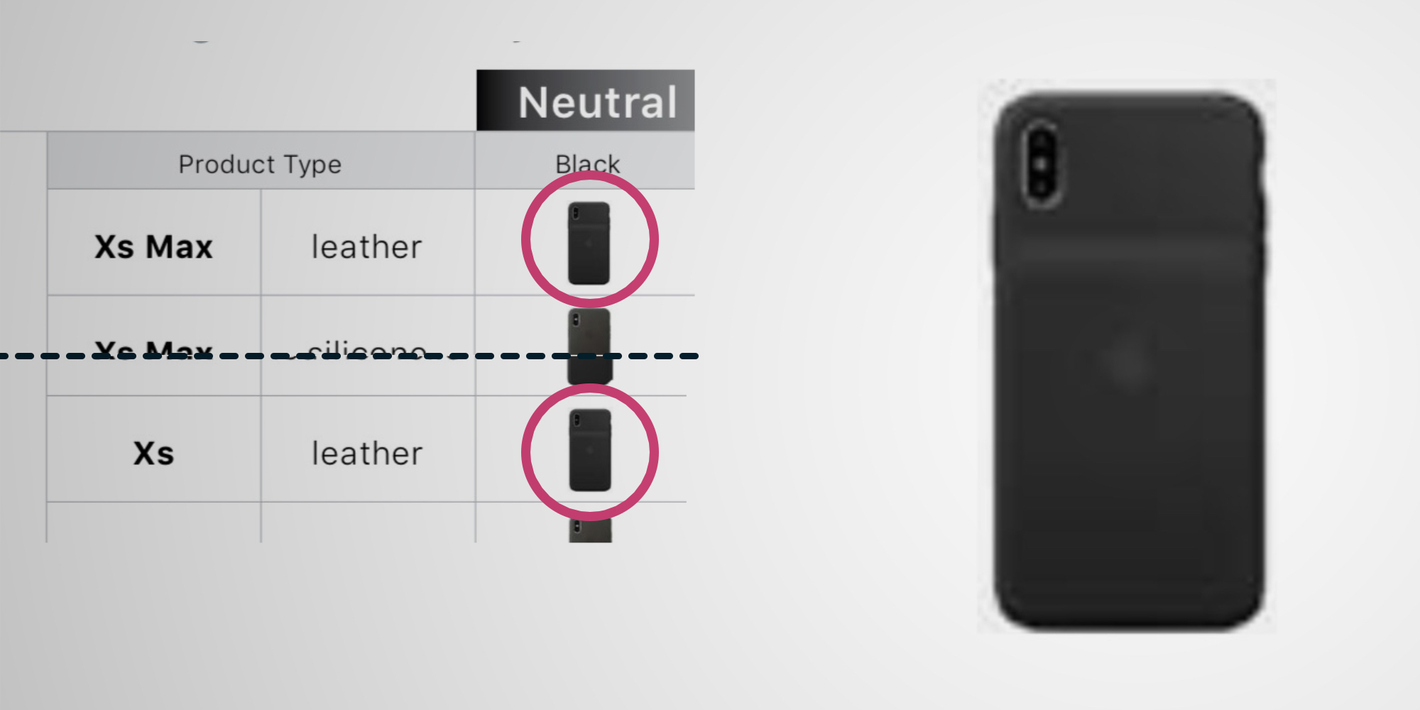 iPhone XS Smart Battery Case pictured in 'fall 2018' documentation for Apple resellers - 9to5Mac