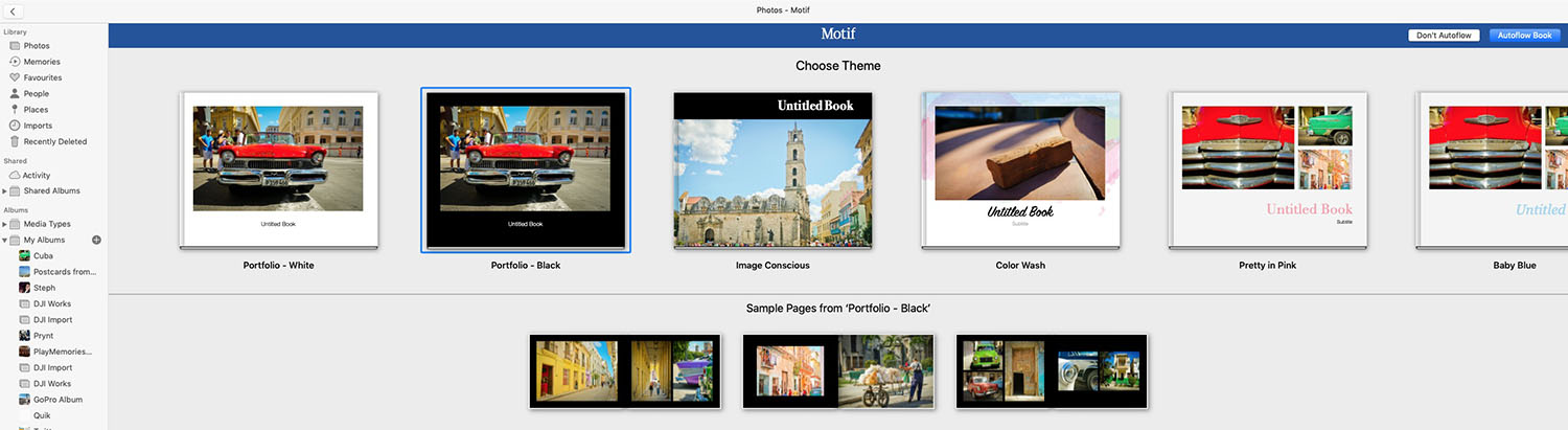 Motif creates photobooks from the Mac Photos app in minutes