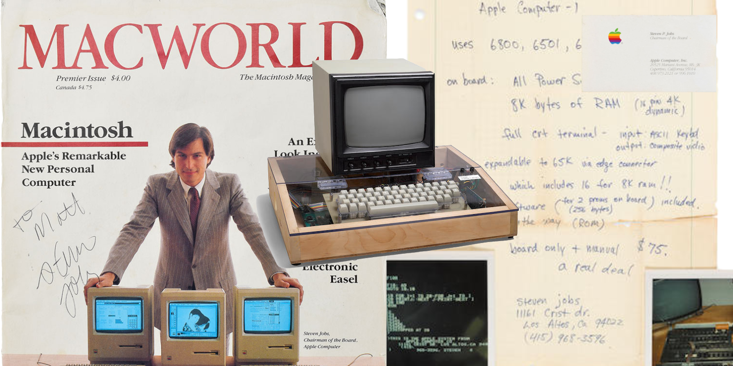 Steve Jobs handwritten Apple I manuscript fails to hit reserve at auction and goes unsold