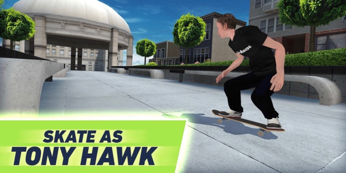 [Update: Now Available] Tony Hawk's Skate Jam Arriving on iOS Next Week, Pre-orders Open Now