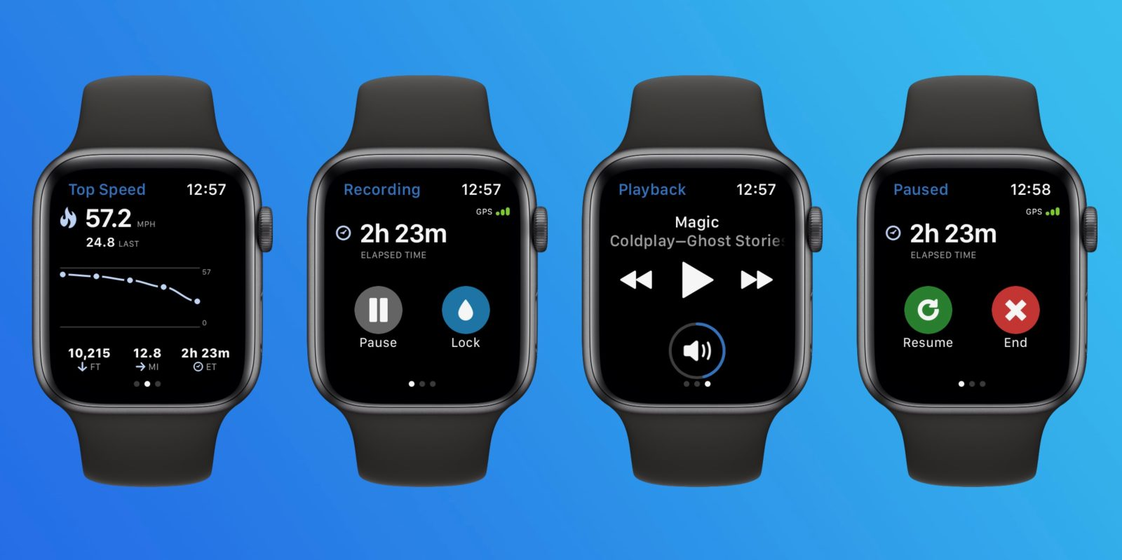 Review: Apple Watch app duo for detailed ski and snowboard