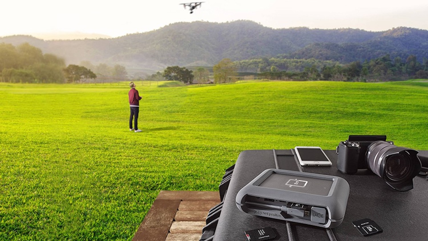 Apple now selling LaCie 2TB DJI Copilot BOSS drive for easily transferring files from drones & more