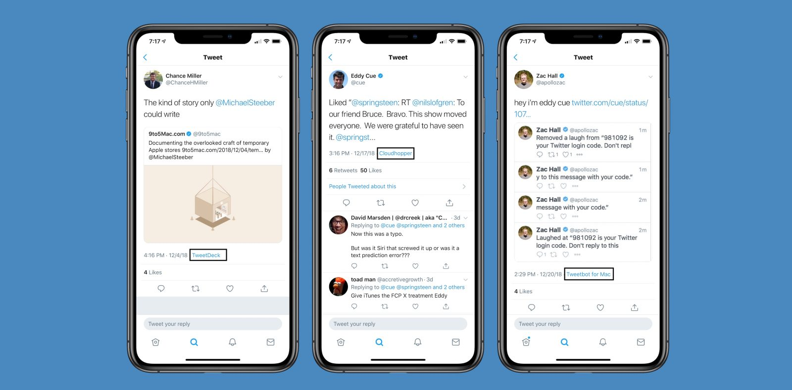 Twitter is bringing back its popular tweet client label on