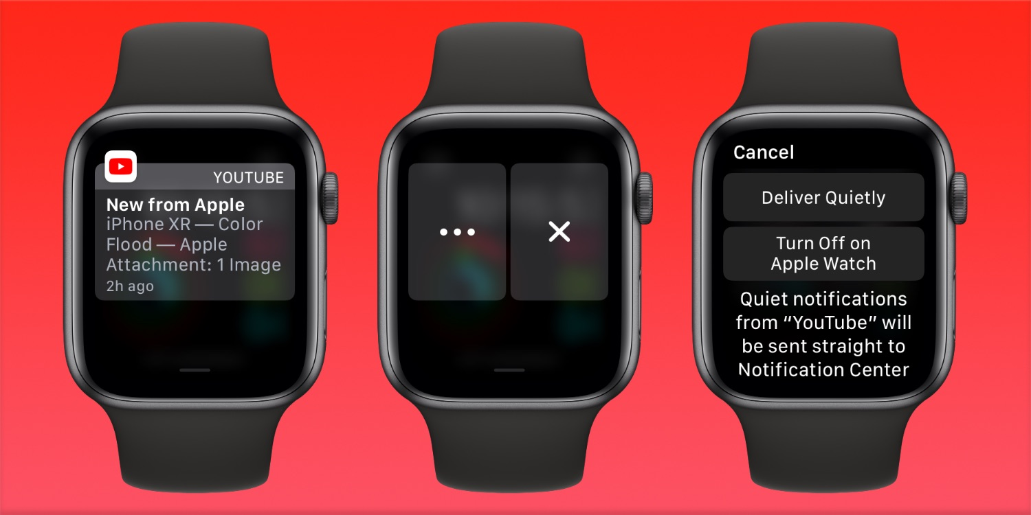 control alerts and notification on Apple watch