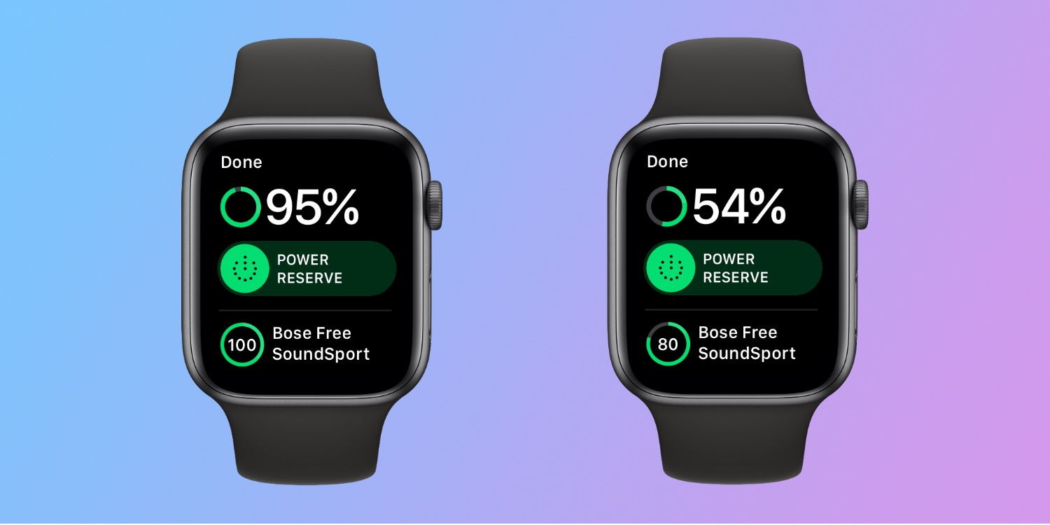 Testing Apple Watch Series 4 with cellular off: over 50% battery after 2 hours