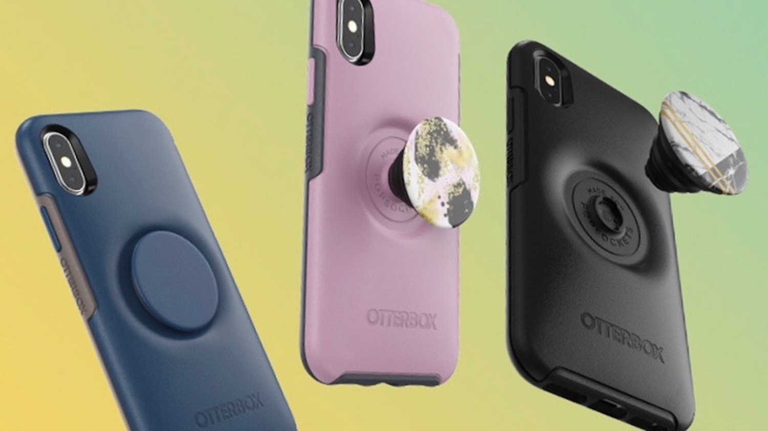 iphone xs case pop socket