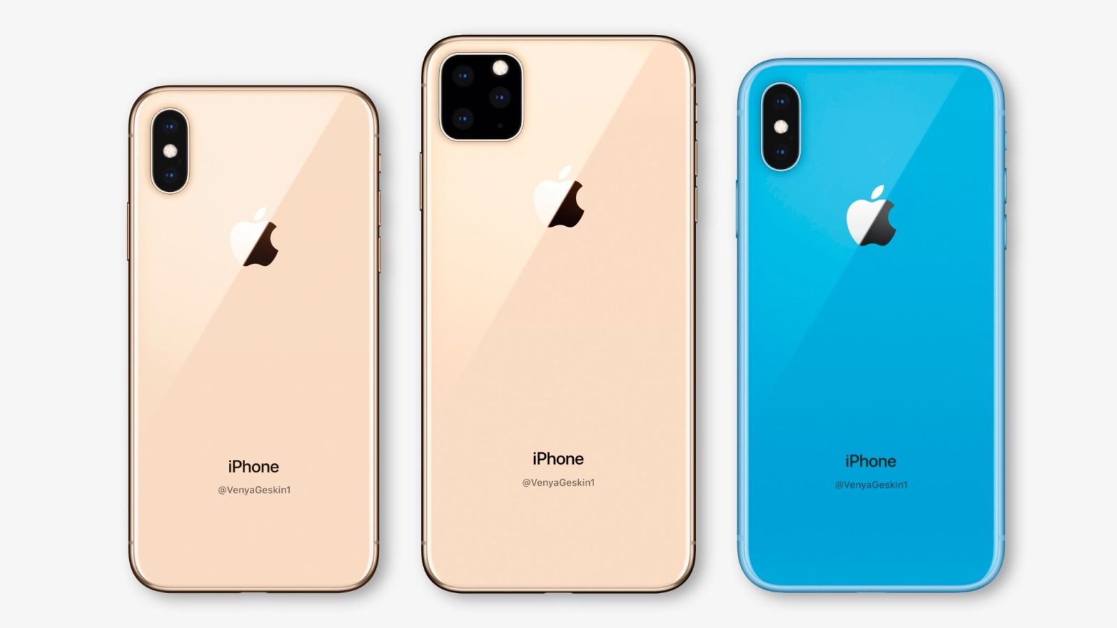 iPhone 11 и iPhone XR 2019