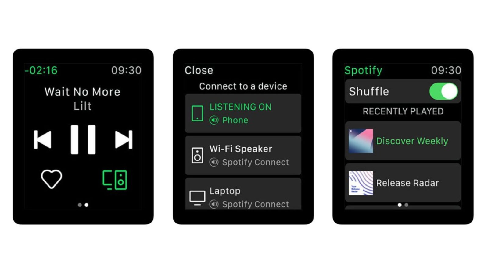Version 8.4.85 of the Spotify app now supports Apple Watch Series 4