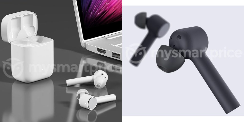 AirPods clone take two from Xiaomi, with a matte black