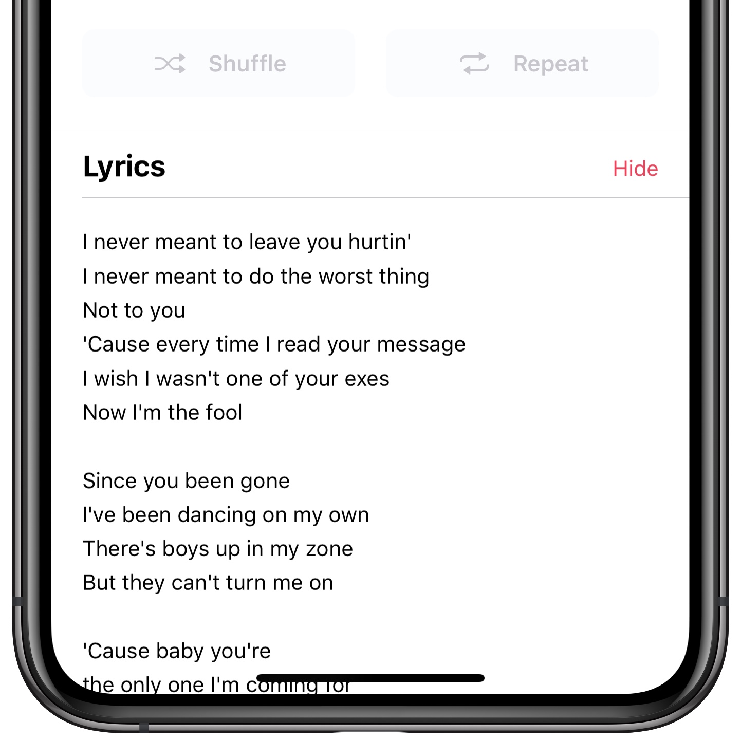 How To View Lyrics In Apple Music On IPhone And IPad