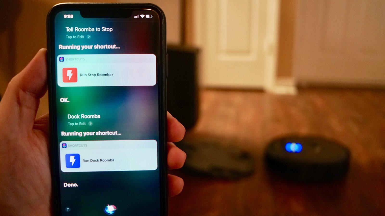 How to control iRobot Roomba with Siri, no HomeKit required