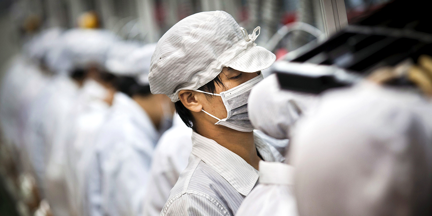 Foxconn says has expansion plans for plants outside China re: coronavirus