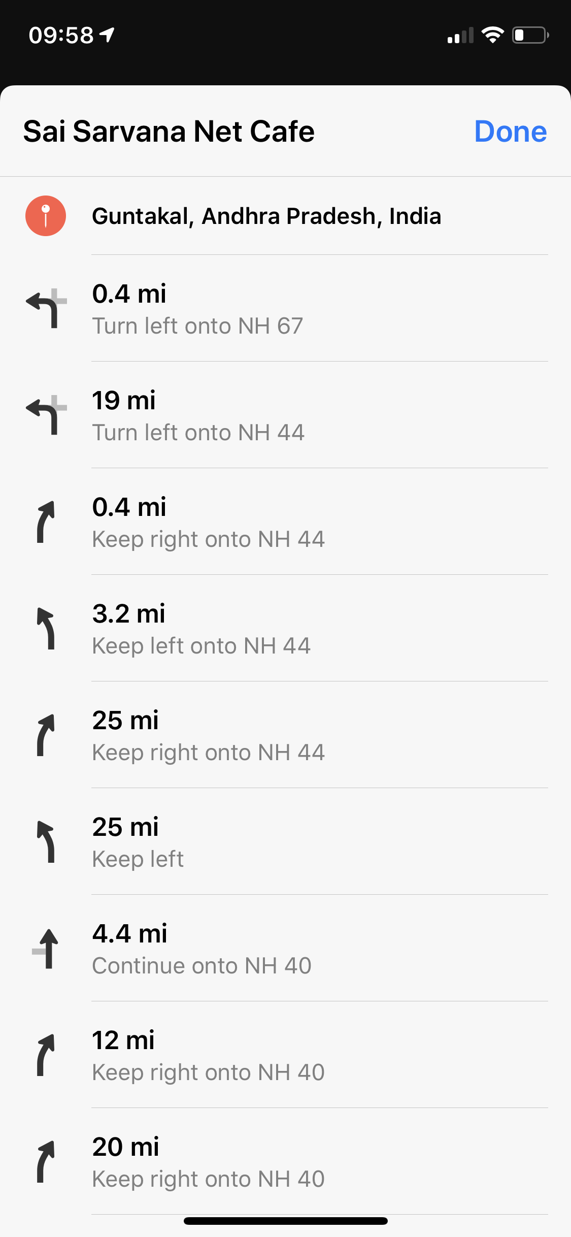 Apple Maps turn-by-turn directions now available in India
