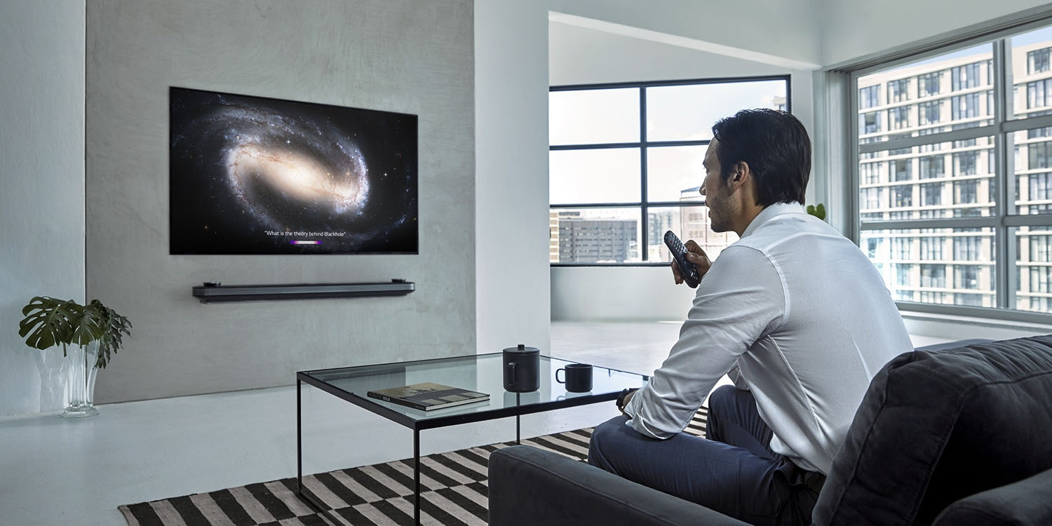 LG releasing first 2019 OLED TVs gaining HomeKit and AirPlay 2 support next month