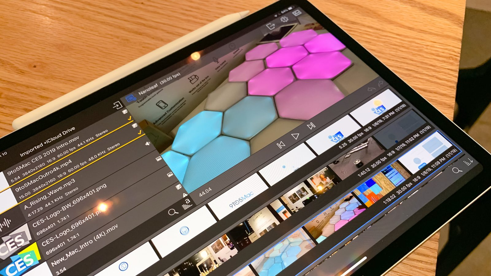 An iOS-only video workflow: Surprises, challenges, and hopes