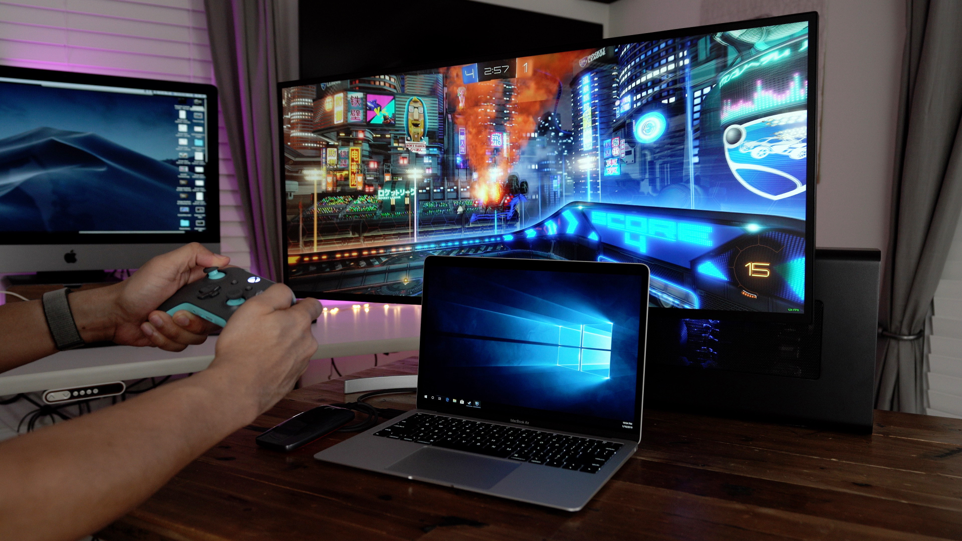 How to: MacBook Air Windows 10 RTX 2080 eGPU gaming setup [Video]