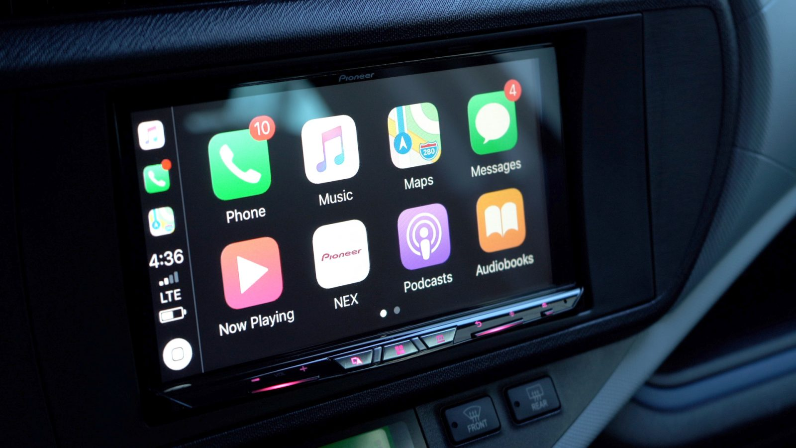 hands on pioneer s w8400nex wireless carplay head unit is. Black Bedroom Furniture Sets. Home Design Ideas