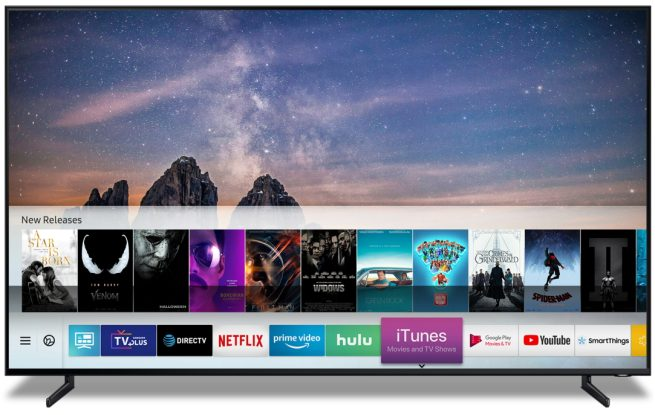 Samsung TVs adding AirPlay 2, iTunes Movies & TV Shows app