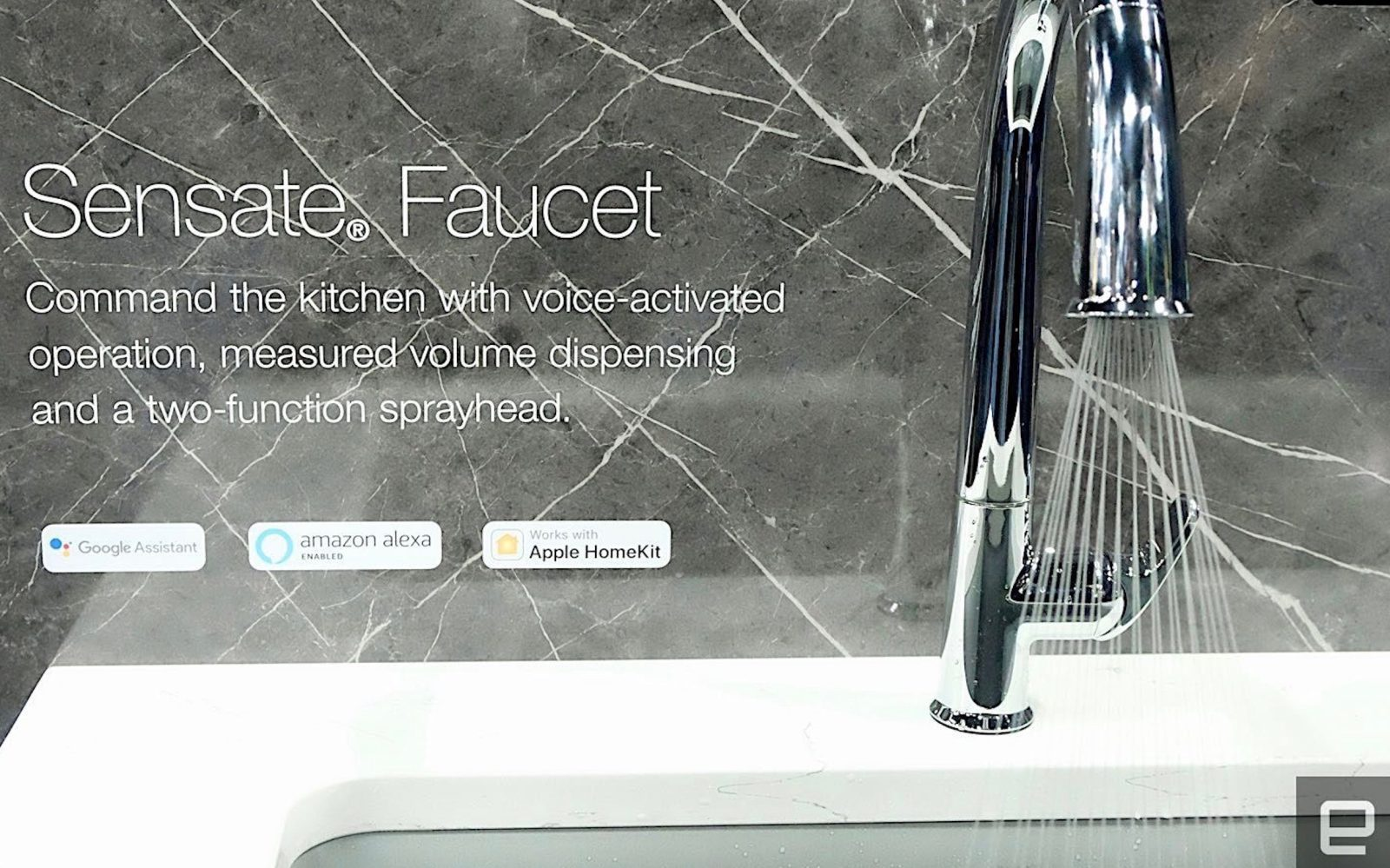 Kohler unveils new hands-free Sensate faucet with HomeKit integration